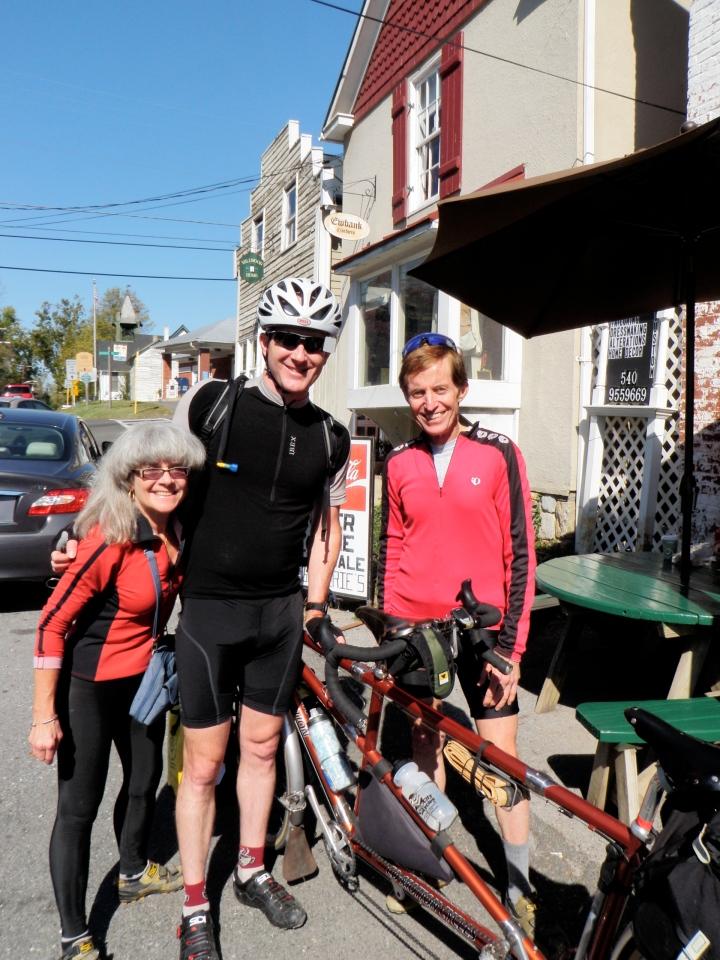 Felkerino, Crista, and Chuck