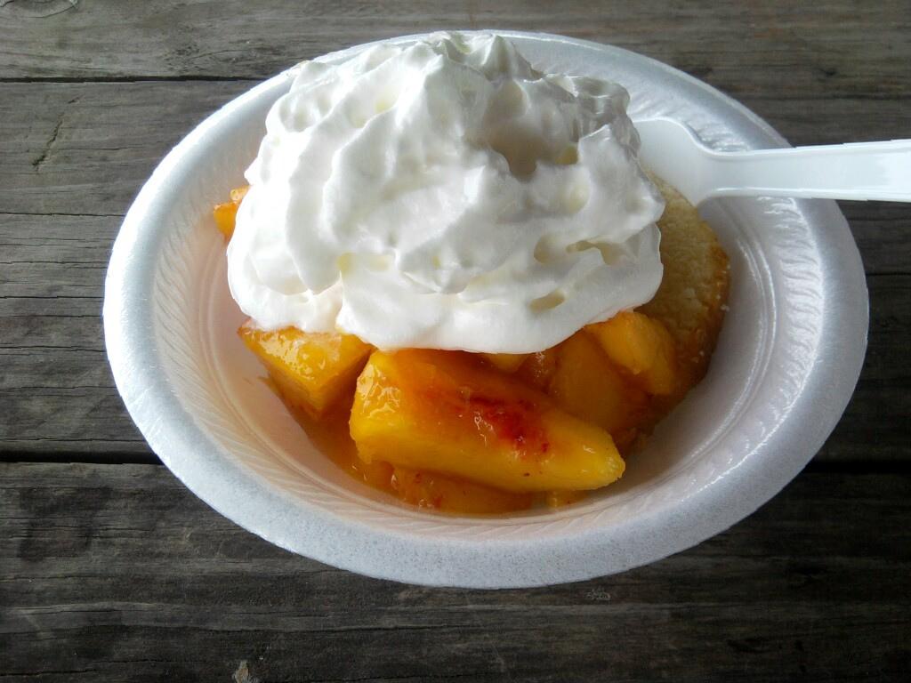 Peach shortcake for me, please.