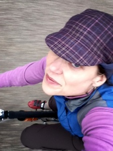 A cold weekend in D.C. Time for a wool cycling cap and coffeeneuring.