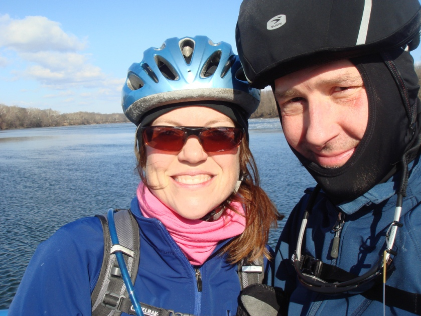 Felkerino and me on a cold January ride