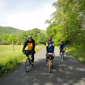 George, Christian, and Rick on the Warrenton 300K