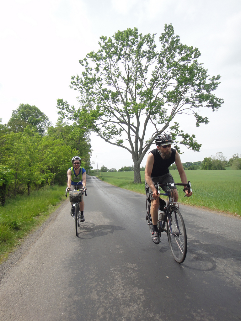Alec and Lane near Dickerson