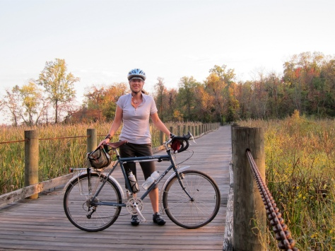 Surly and me on the Mt. Vernon Trail