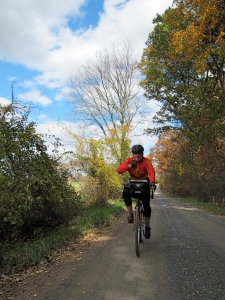 Barry B. on a training ride out of Middleburg