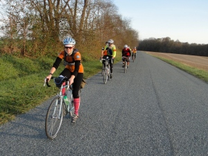 Riding the Rivendell Romulus on the D.C. Randonneurs Flatbread 200K (c) Felkerino