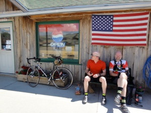 Felkerino and Bill on the Colorado High Country 1200K