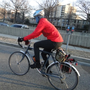 Winter commuting on the Surly