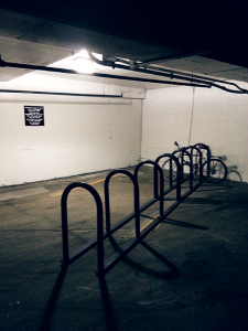U-shaped bike racks