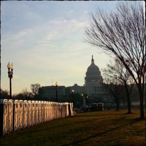 Capitol and port o'potties