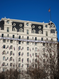 The Willard Intercontinental Salutes America's 44th President