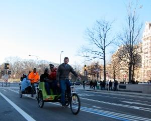 Pedicabs. Hi!