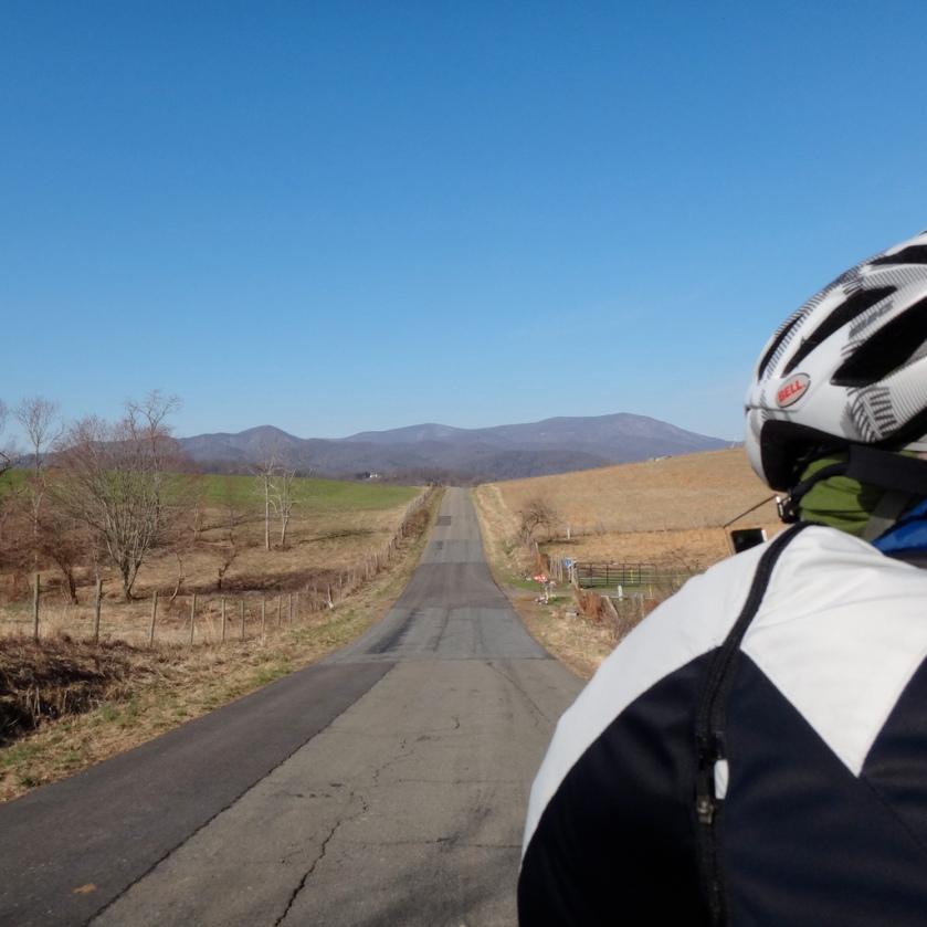 Heading toward the mountains
