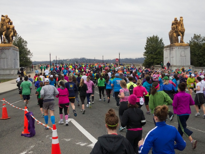 Rock and Roll Half at Memorial Bridge