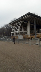 Inauguration booth
