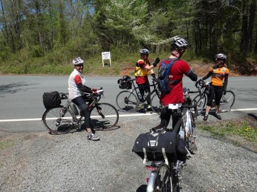Matt, Bill, Felkerino, and Andrea on the 300K