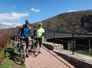 Barry and Ed at Harpers Ferry
