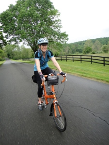 Bike Friday Pocket Rocket and me