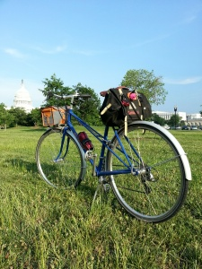 Velo Orange Mixte and Carradice