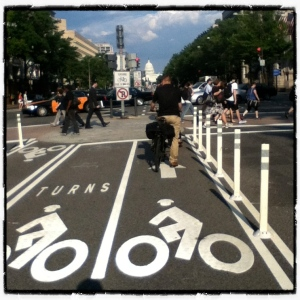 Pennsylvania Avenue Bike Lanes