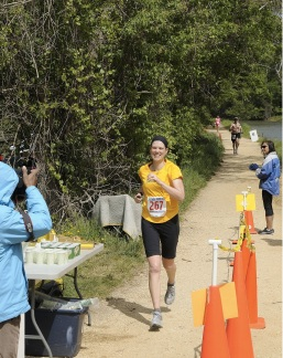 Me - Potomac River Marathon Finish
