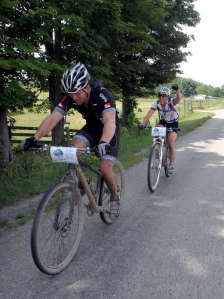 Single speed riders on the Hilly Billy Roubaix