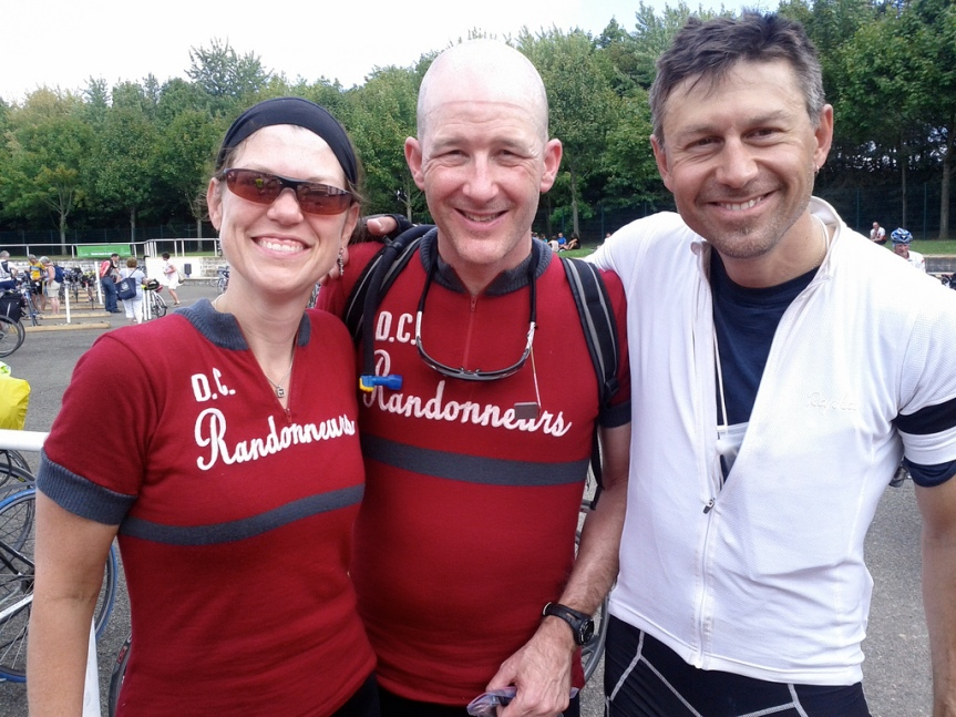 Felkerino, Jon, and me. PBP 2011