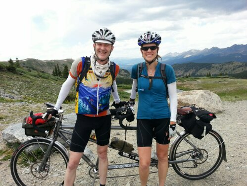 Colorado tandem tour: Felkerino and me