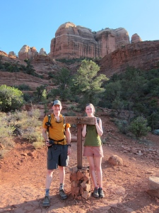 Templeton Trail, foot of Cathedral Rock