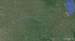 RAGBRAI route