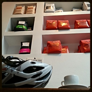 Coffeeneuring at Baked and Wired. Always delicious