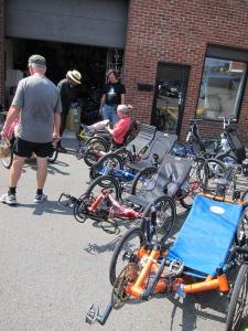 The trike zone at Bikes@Vienna