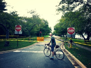 Hains Point Needs more tape