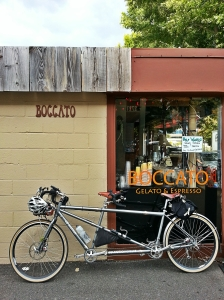 Tandem coffeeneuring at Boccato