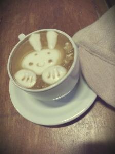Cofeeneuring - bunny latte art
