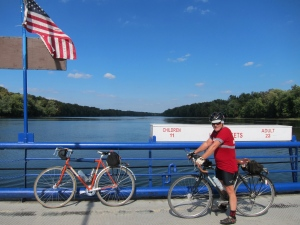 Bill and his Independent with my Quickbeam on White's Ferry