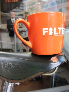 Filter and Brooks Coffeeneuring