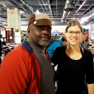 Philadelphia Bike Expo with Nigel