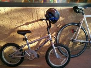 Sally's coffeeneuring bike.