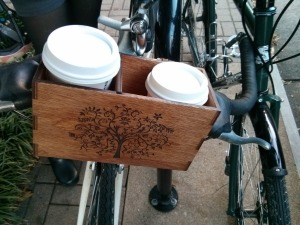 Coffeeneuring - JP and Kristin