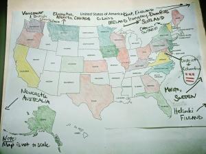 Magic Coffeeneuring Map 2013