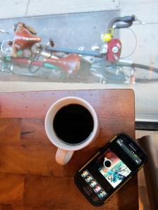 Coffeeneuring at Elixir in Philadelphia