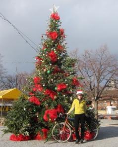 7th Street Landing Christmas Tree, Quickbeam, and me