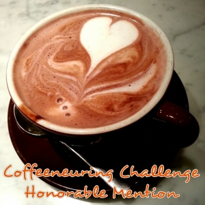 Coffeeneuring Challenge-Honorable Mention