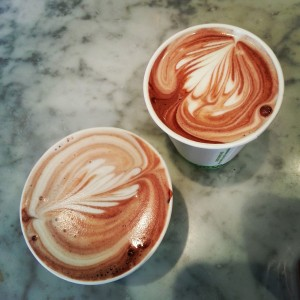 Coffeeneuring-Sipping Chocolate