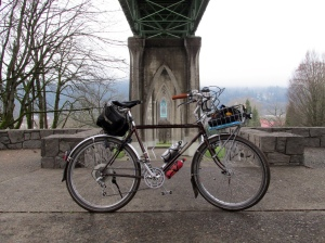 Under the St. Johns Bridge