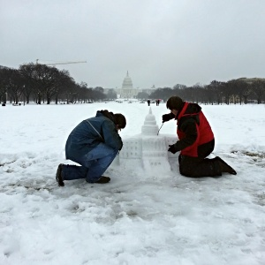 Snow Capitol in progress