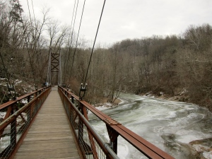 Patapsco State Park Suspension Bridge