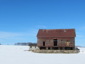 One of my favorite old barns on the route