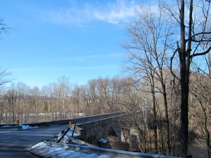 A look at the old stone bridge over the Monocacy River