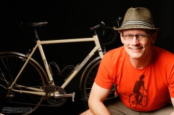 SWAIN - portrait with new bike